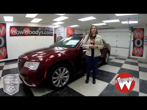 2018 Chrysler 300 Limited Review | Video Walk-Around | Used Cars and Trucks for sale at WowWoodys