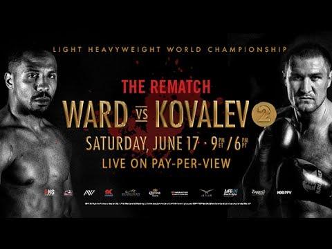Ward vs Kovalev 2 The Rematch