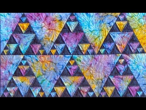 Northern Lights part 1 quilt video by Shar Jorgenson - YouTube : northern lights quilt - Adamdwight.com