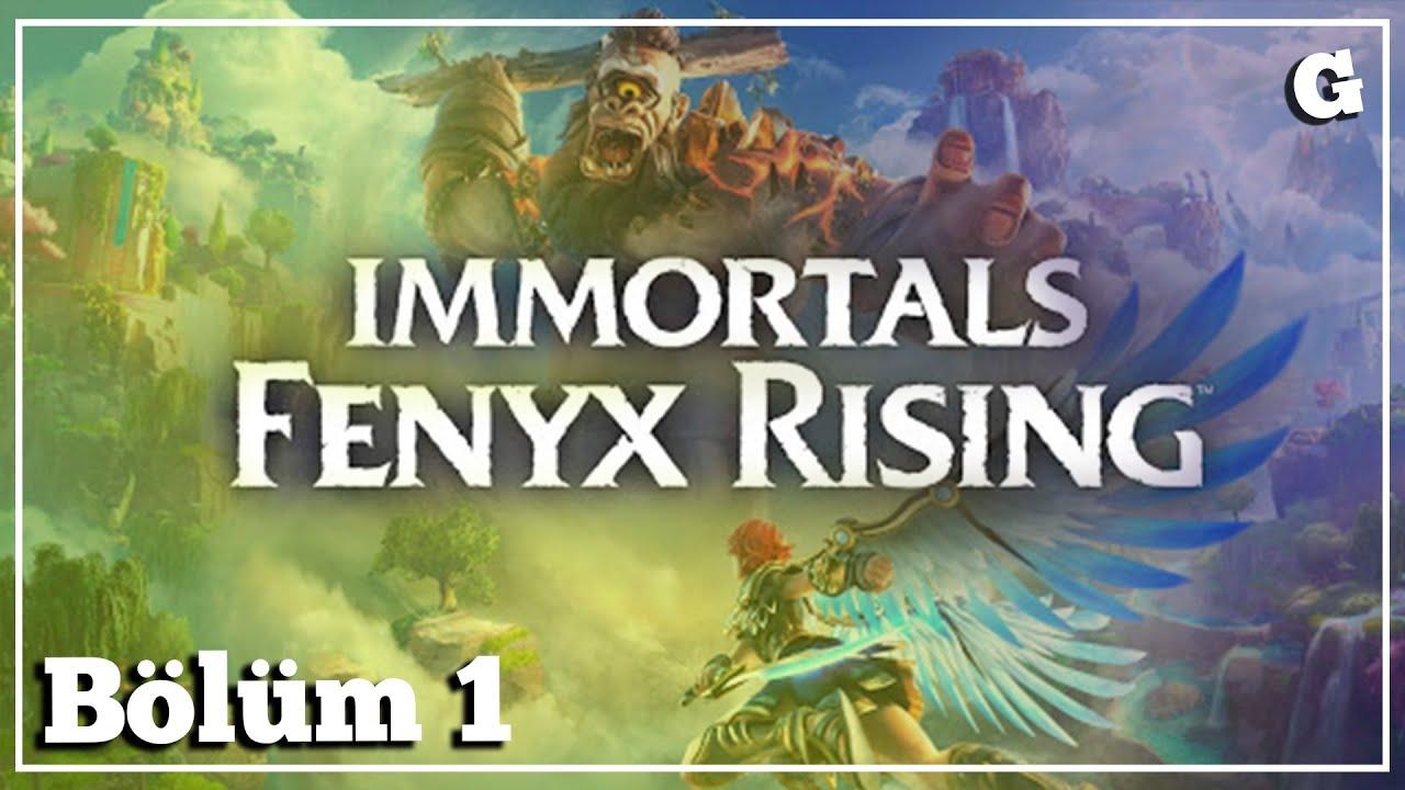 Immortals Fenyx Rising: Ölümsüzsün Diye Mutlusun Sanıyorlar // BÖLÜM 1