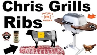 Chris Grills Ribs (PK 360/ PK Grill 360/ PK360 grill)