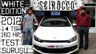 Volkswagen Scirocco Test Sürüşü 2012 1.4 TSI 160 hp White Edition   Oto Bilgi
