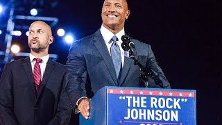 "Dwayne ""The Rock"" Johnson Running For President 2020 
