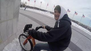 Biking in Washington DC