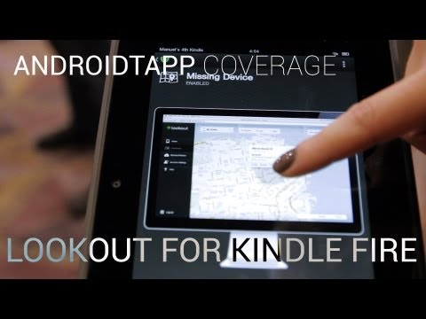 Lookout Antivirus & Mobile Security for Kindle Fire (Hands-on Video)