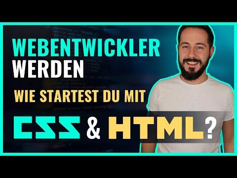 Wie Startest Du Am Besten Mit HTML & CSS? Webentwicklung Lernen - Teil 1/2