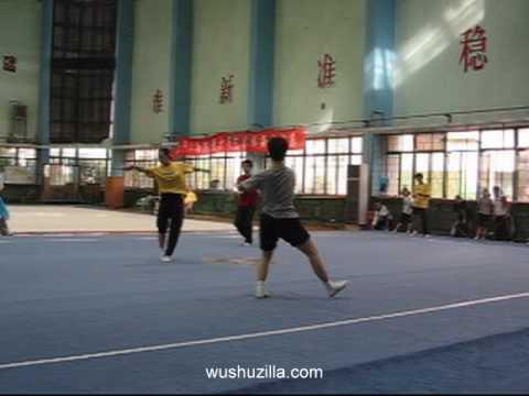 Shanghai Wushu Team Demo Practice (9/28/2006)