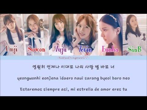 GFRIEND - Luv Star (사랑별) [Sub. Español + Hangul + Rom] Color & Picture Coded