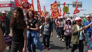 İstanbul'da 1 Mayıs kutlamaları başladı
