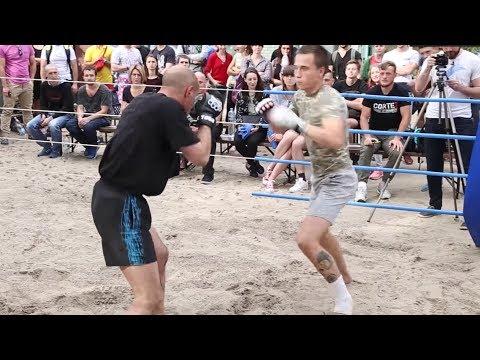SCHOOL BOY vs OLD MAN !!! From Ukraine !!