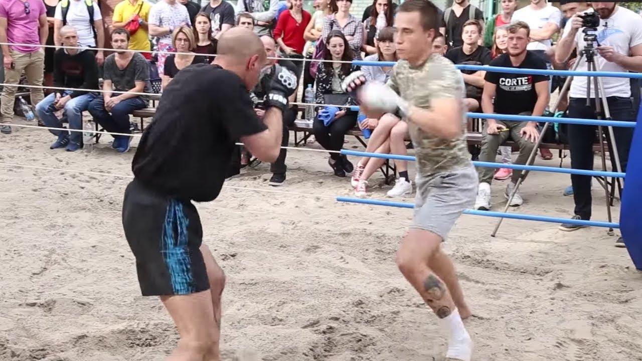 Старый мужик против Молодого Бойца