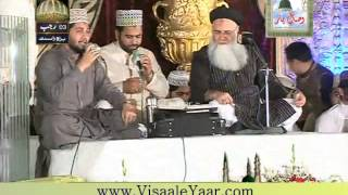 Abdul Rauf Rufi 22-04-2015 Mehfil e Naat Eidgah Sharif at Rawalpindi.By Visaal