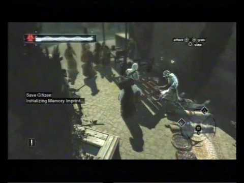 Assassin's Creed, Career 113, Jerusalem, Rich District, Save Citizen 4