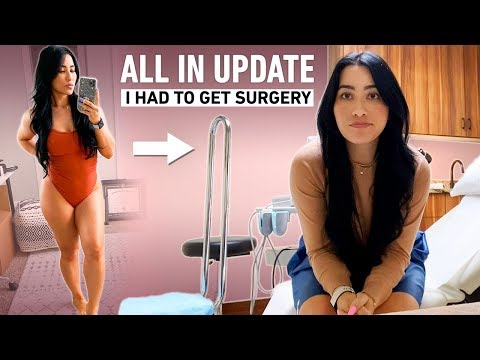 All In Update: I Had To Get Surgery, Losing Weight?, Physique Update