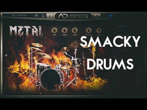 Addictive Drums 2 | Tight metal drums (w/ Metal AD-Pack)