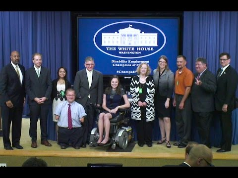 Champions of Change: White House Disability Employment