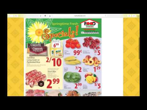 How to: Search for the Weekly Ad - Food Bazaar Supermarket - YouTube