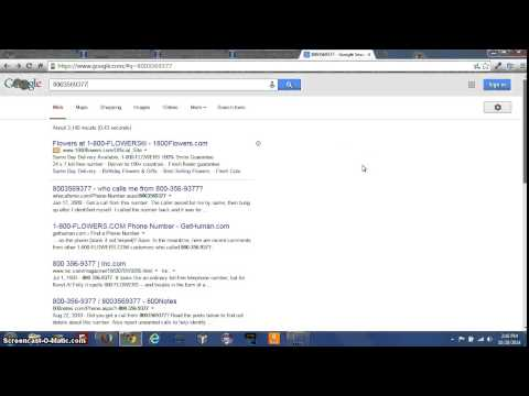 How To Reverse Search A Phone Number On Google
