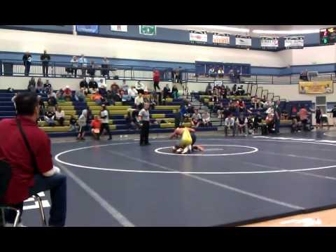 Utah Wrestling Region 7 2012   170 Pounds   Michael Milner v Drew Hale