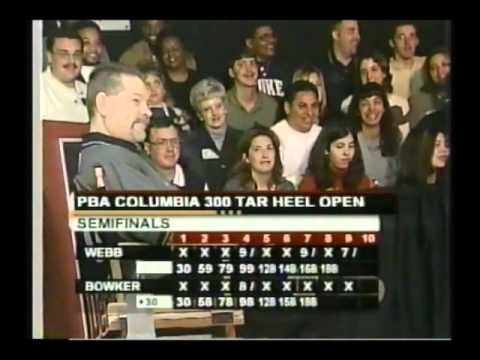 2002 PBA Columbia 300 Tarheel Open Entire Telecast