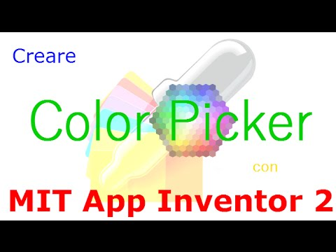 color picker app inventor
