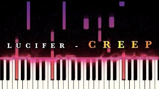 Lucifer - Creep (from Lucifer TV show S4E1)  [Piano Cover] Resimi