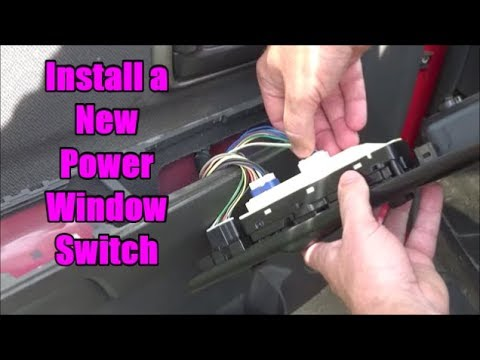 Install A New Power Window Switch Chevy Colorado Gmc Canyon 2004 2012 Youtube