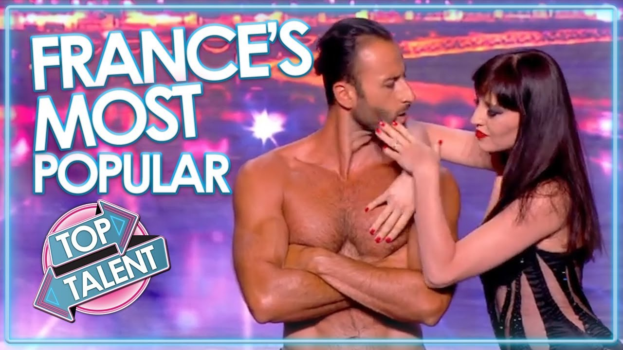 MOST VIEWED ACTS On France's Got Talent! | Top Talent