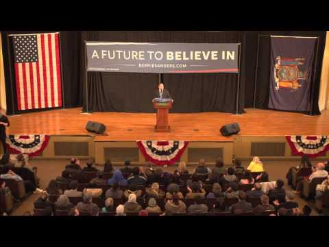 Bernie Sanders Rally at Bronx Community College