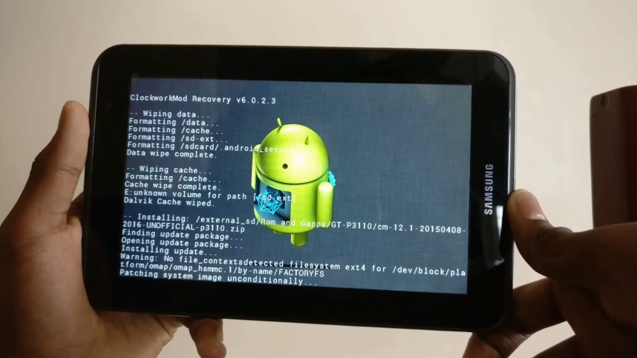 How to Install CM 12 1 ( Lollipop)rom on GT-P3113/P3110 Samsung galaxy Tab  2 | android organisation