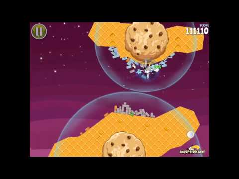 Angry Birds Space S-9 Utopia Bonus Level Walkthrough