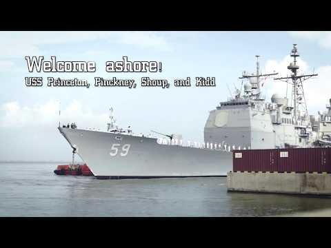USS Carrier Strike Group in Sri Lanka