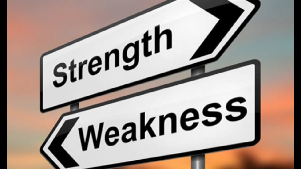 Weaknesses Versus Strengths YouTube