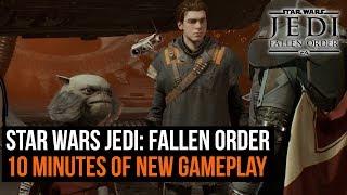 Star Wars Jedi: Fallen Order - 10 minutes of unseen footage