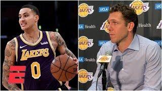 Kyle Kuzma will be an 'incredible player' - Luke Walton | NBA Sound