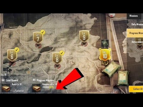 How to Complete Level 9 in Pubg Mobile Lite | Complete Level 9 in Pubg Lite
