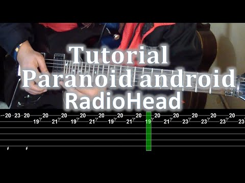 Paranoid Android - RadioHead - Guitar Tutorial Complete