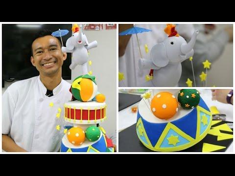 Topsy Turvy Circus Cake Workshop With Handi Mulyana - Bake & Deco Warehouse