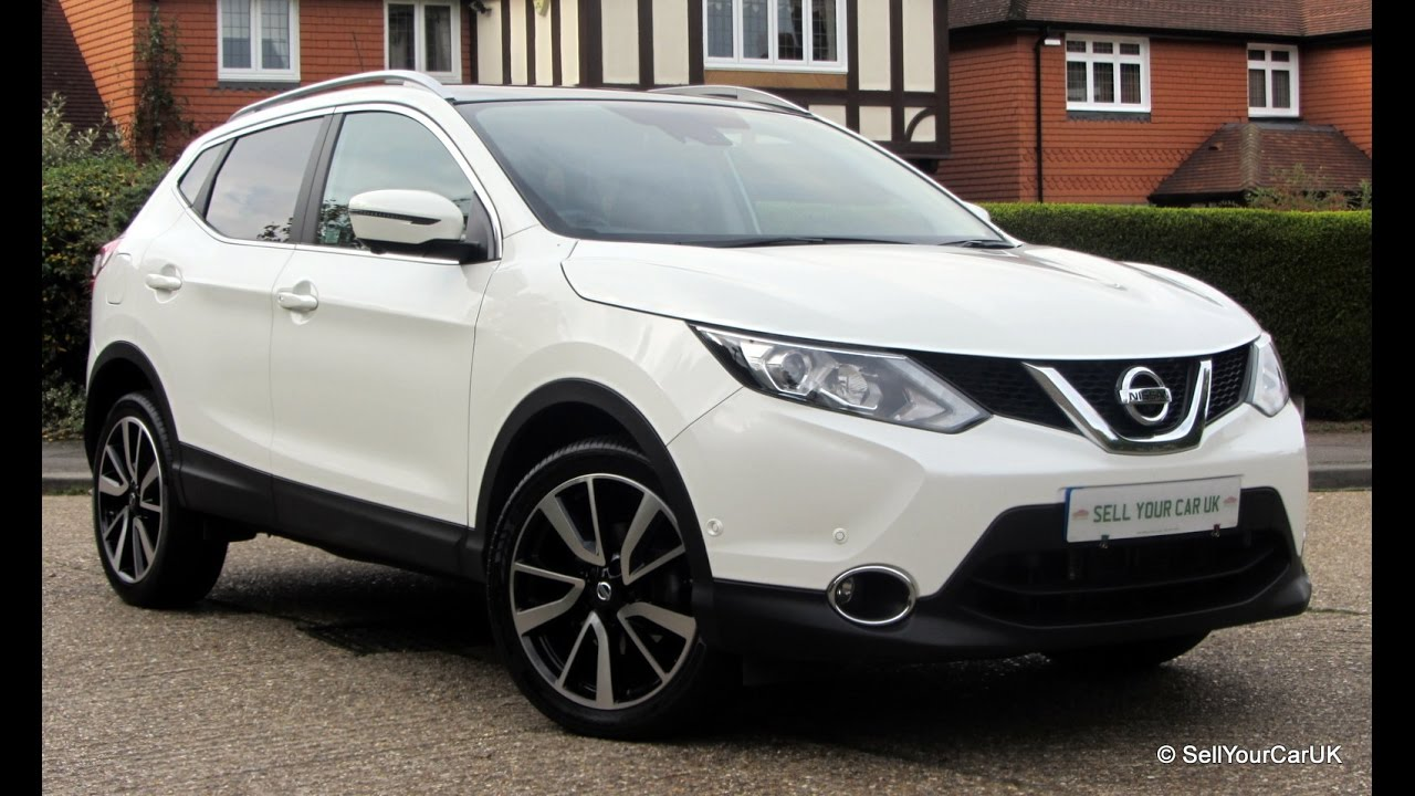 sold using sell your car uk 2015 nissan qashqai 1 2 dig t cvt xtronic tekna storm white pearl. Black Bedroom Furniture Sets. Home Design Ideas