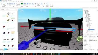 Roblox - how to add headlights, brake lights, and reverse lights