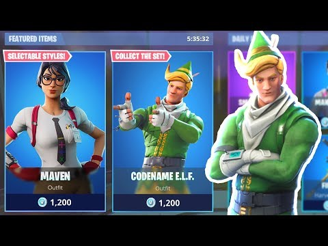 New ITEM SHOP COUNTDOWN | December 29th New Skins - Fortnite Item Shop Live