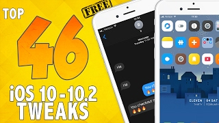46 AWESOME Free iOS 10 - 10.2 Jailbreak Tweaks! | Best iOS 10 Jailbreak Tweaks #2