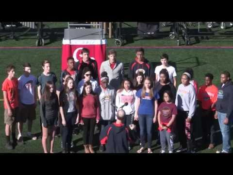 RHS Madrigals - Music in Motion 2015 - Star Spangled Banner