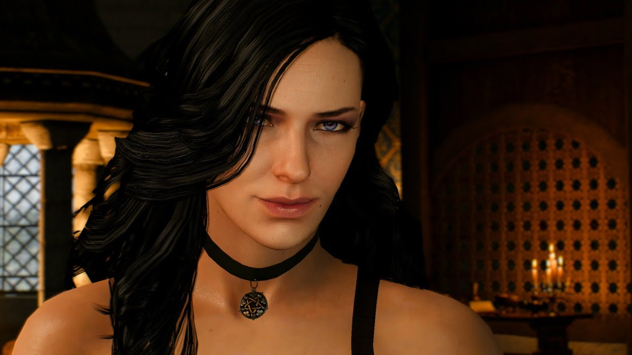 the witcher 3 wild hunt yennefer love scene 01 youtube
