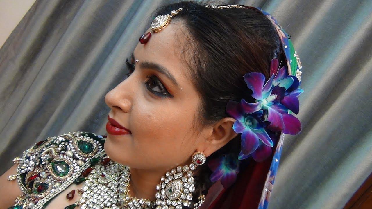 Indian Glamorous Bridal Makeup - YouTube