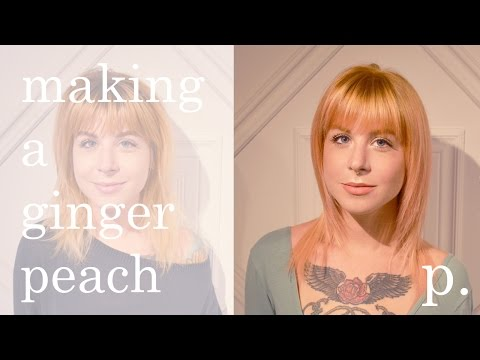 HAIR TRANSFORMATION! *GINGER PEACH!*