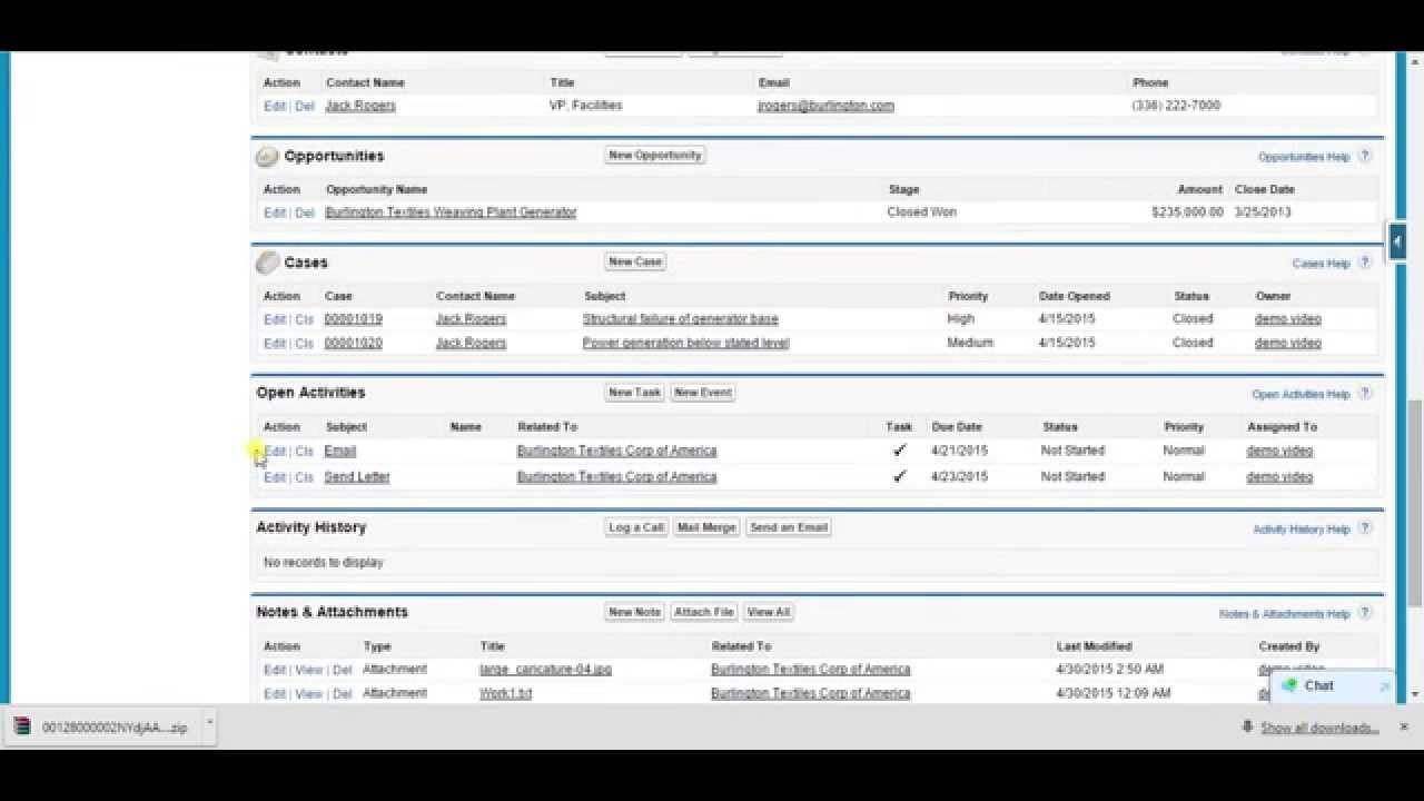 Download Attachments as Zip (Salesforce)