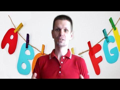 Как быстро выучить алфавит по английскому языку с ребенком