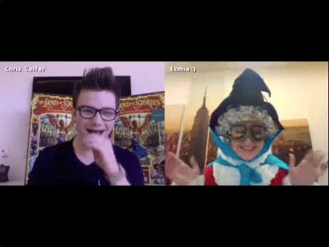 Live Chat With Chris Colfer For The Land Of Stories 3: A Grimm Warning