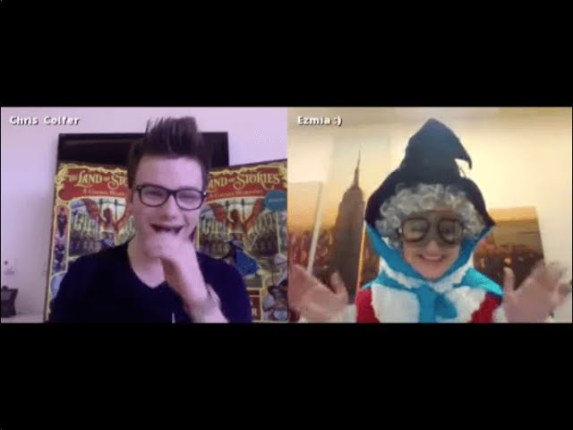 Live Chat With Chris Colfer For The Land Of Stories 3 A Grimm